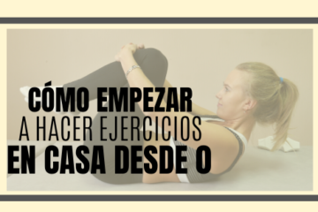 Cómo hacer ejercicios en casa