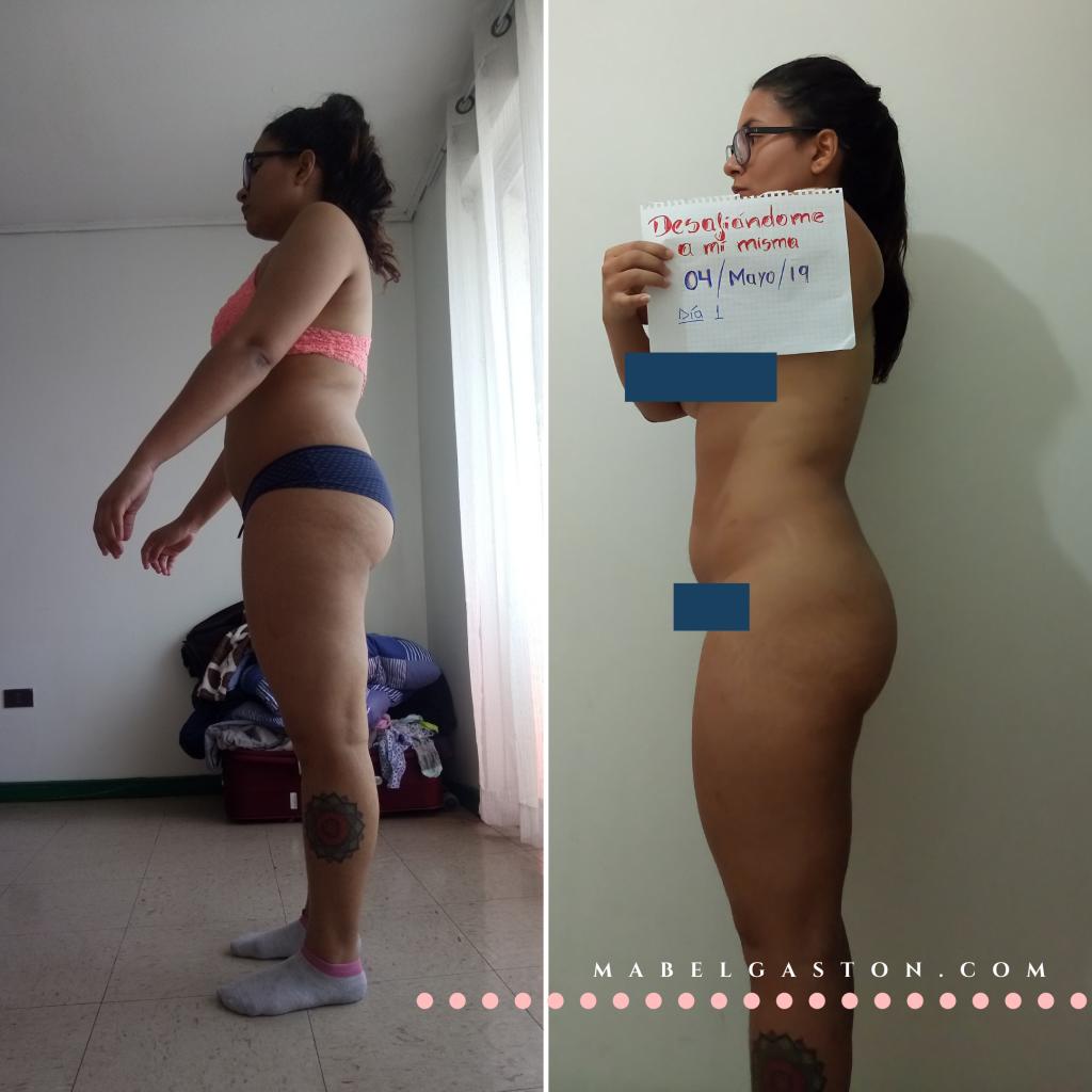 Mi transformación fitness