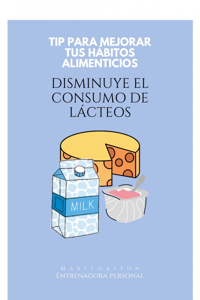 Alimentación sin lácteos